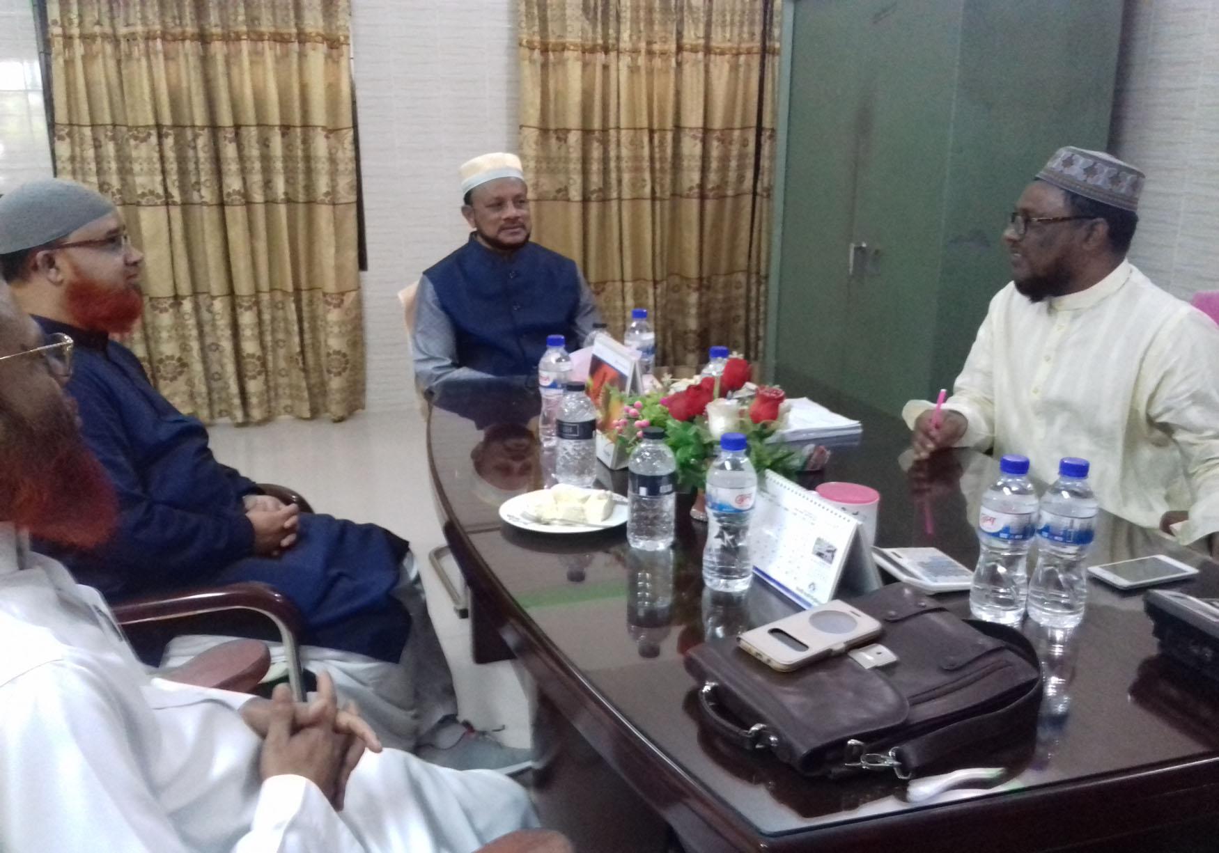 VC Islamic University visited Madrasah